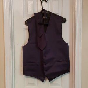 S.H. Churchill & Co. Navy 4 Piece Vest Set